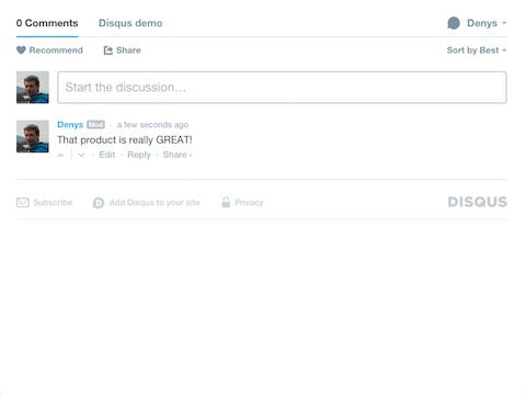 Disqus Integration: comments & reviews | Apps