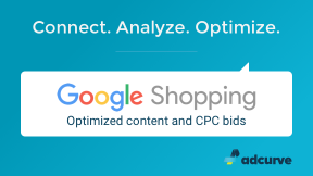 Adcurve - Google Shopping Optimizer