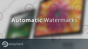 Automatic Watermarks