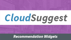 CloudSuggest - Recommendation Widgets